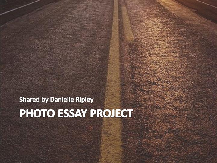 Photo essay project