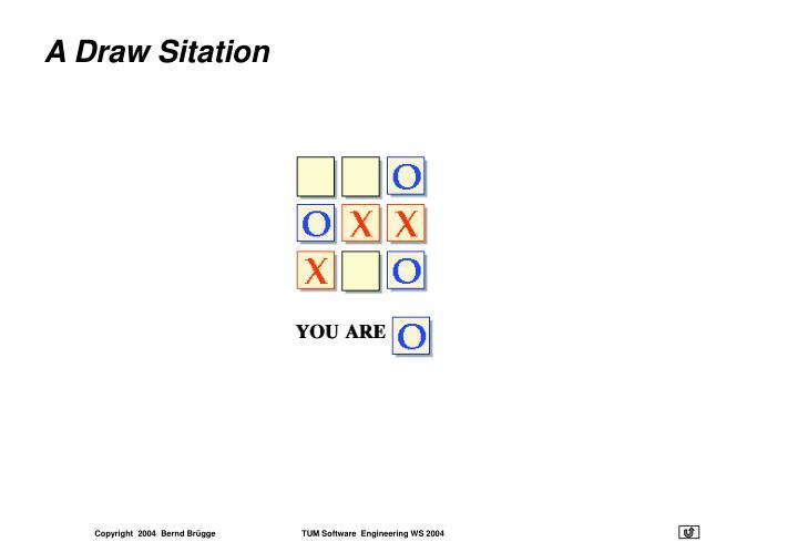 A Draw Sitation