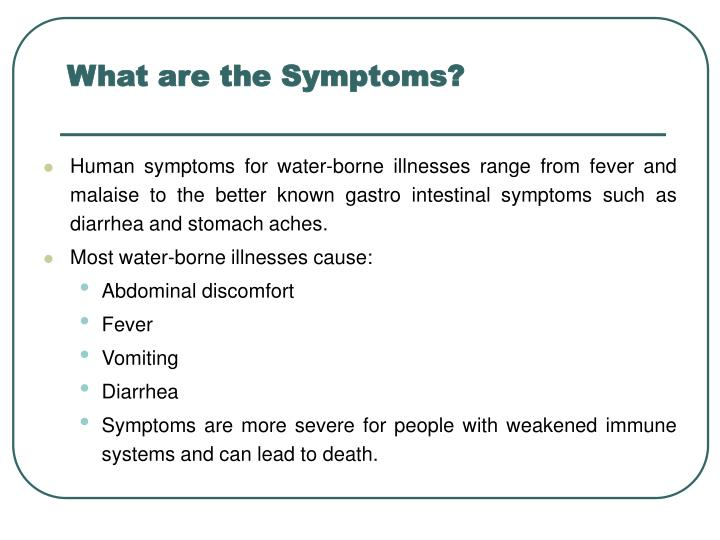 What are the Symptoms?