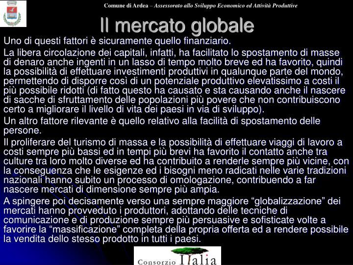 Il mercato globale