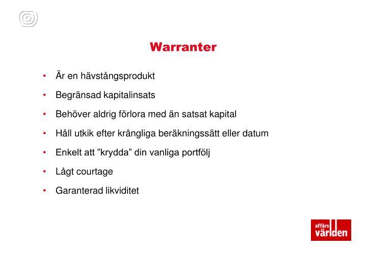 Warranter