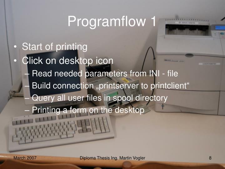 Programflow 1