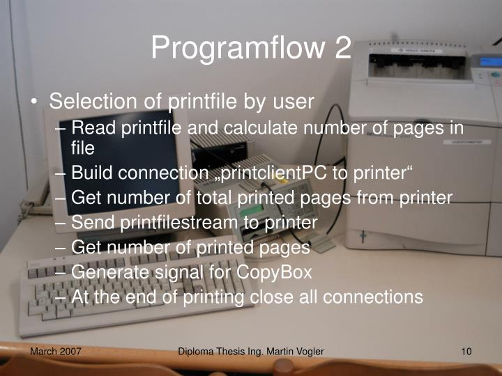 Programflow 2