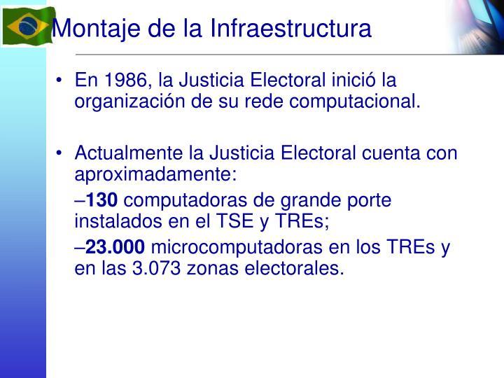Montaje de la Infraestructura