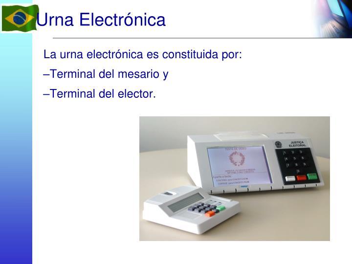 Urna Electrónica