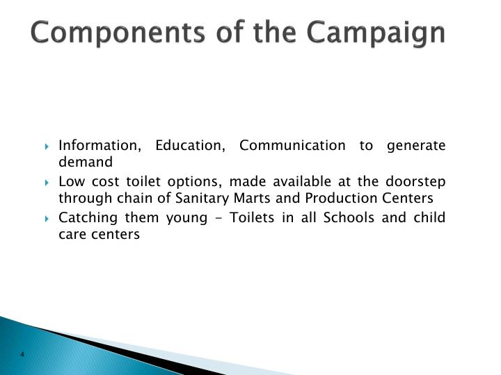 Components of the Campaign