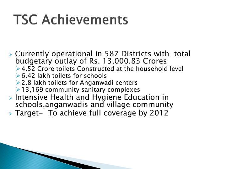 TSC Achievements