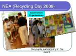 nea recycling day 2009