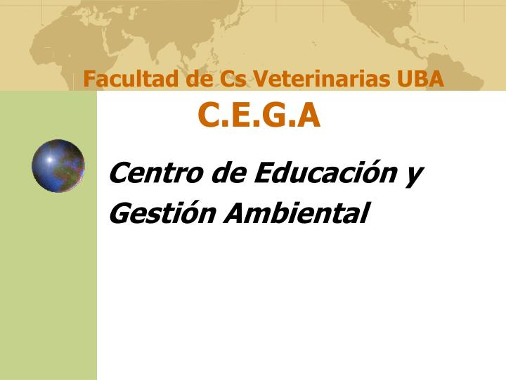 Facultad de Cs Veterinarias UBA