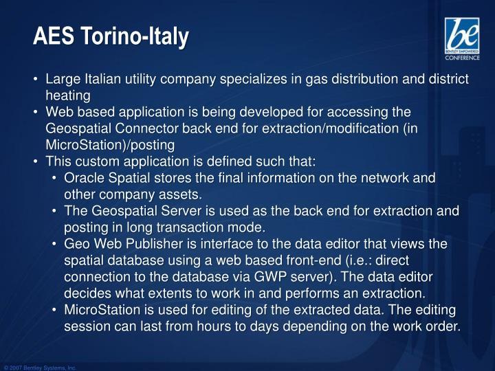 AES Torino-Italy