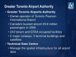 greater toronto airport authority