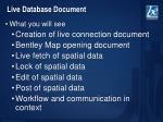 live database document2