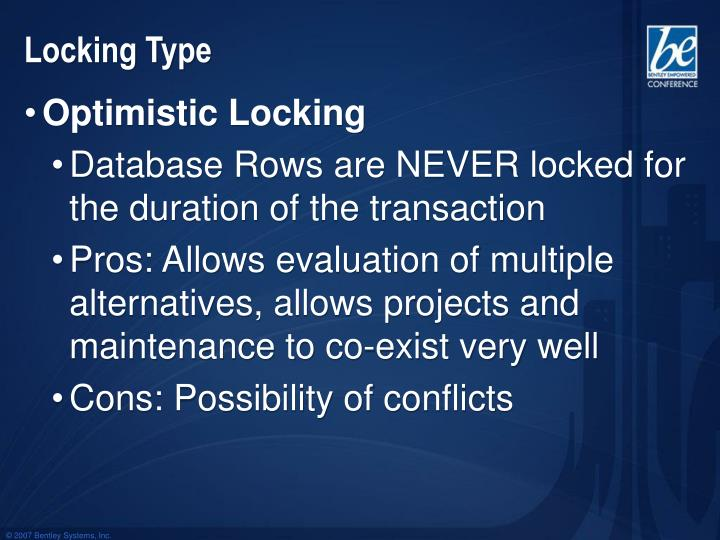 Locking Type