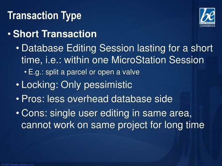 Transaction Type