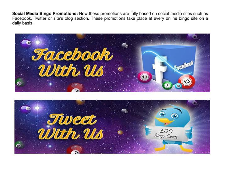 Social Media Bingo Promotions: