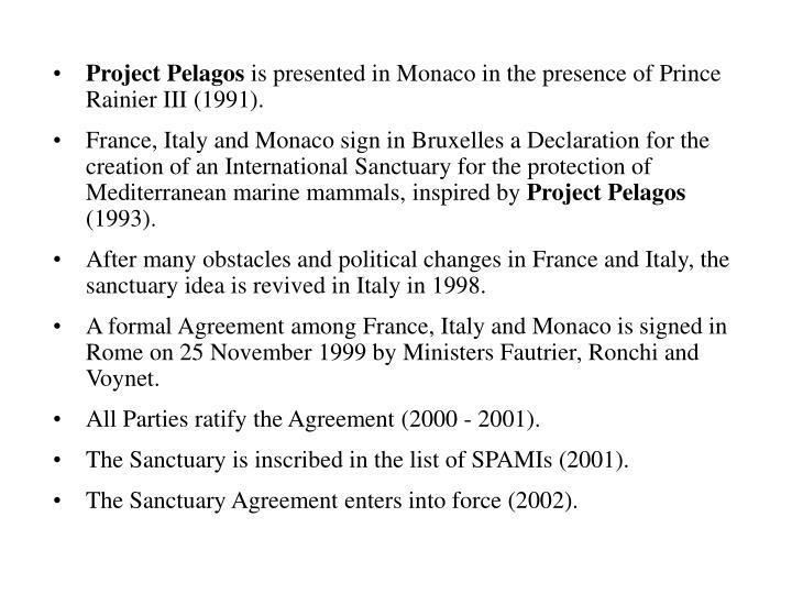 Project Pelagos