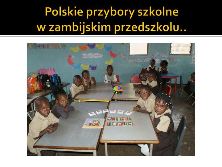 Polskie przybory szkolne