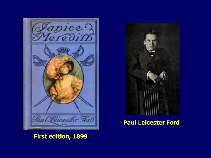 Paul Leicester Ford