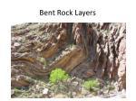 bent rock layers
