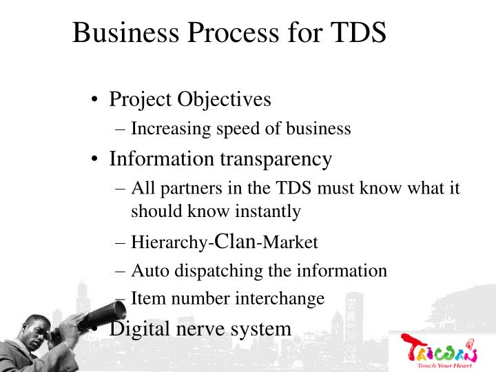 Business Process for TDS