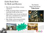 eslite book store its myth and mystery