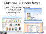 lifelong and full function support1