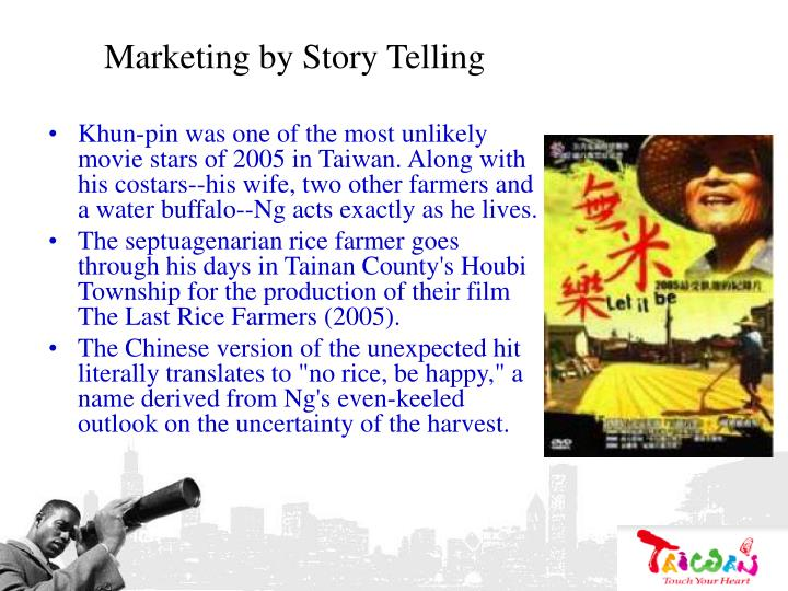 Marketing by Story Telling