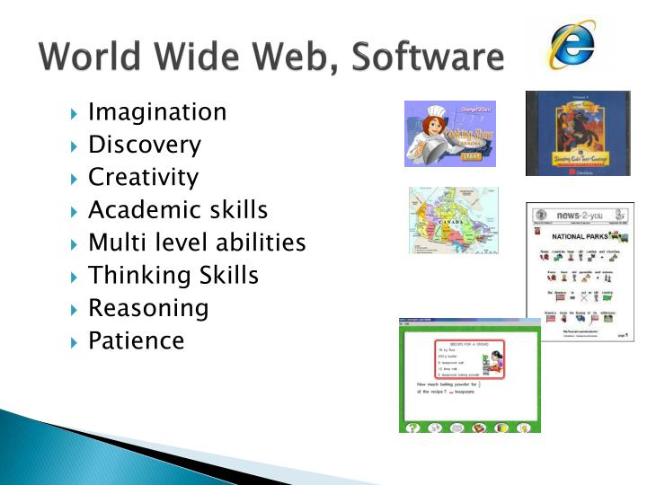 World Wide Web, Software