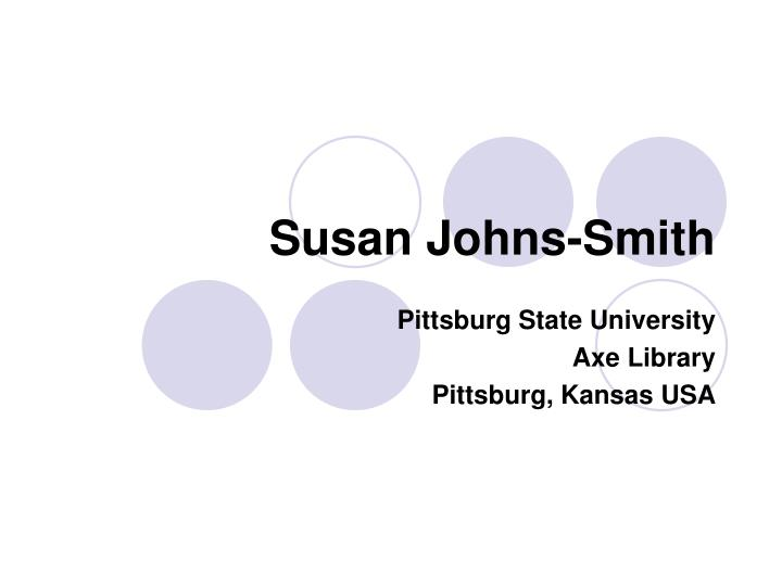 Susan Johns-Smith