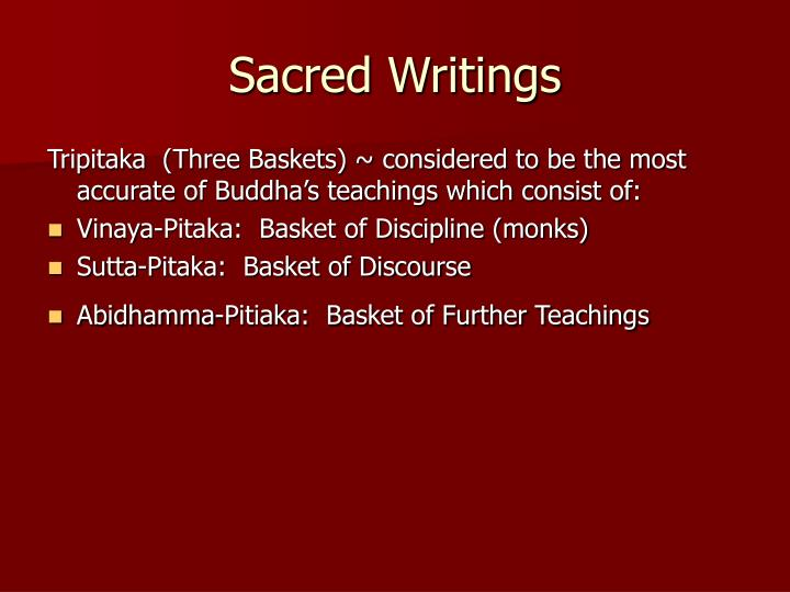 Sacred Writings