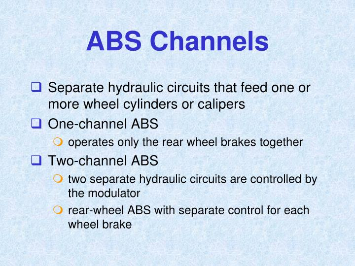ABS Channels