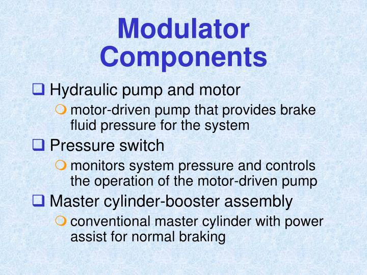Modulator Components