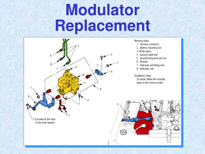 Modulator Replacement