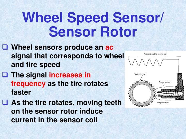 Wheel Speed Sensor/