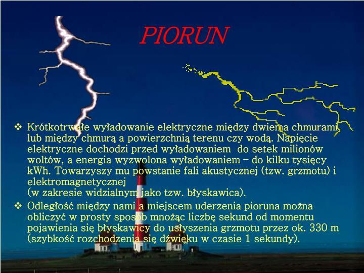 PIORUN