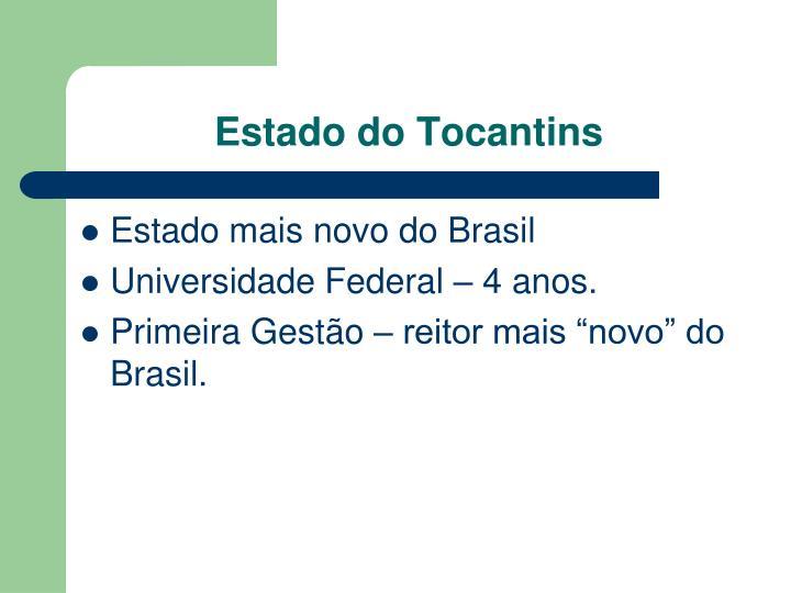 Estado do Tocantins