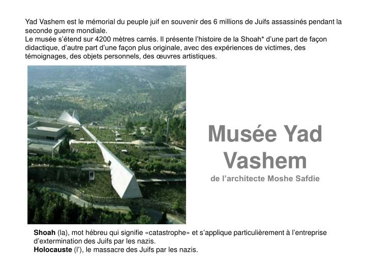 Muse Yad Vashem