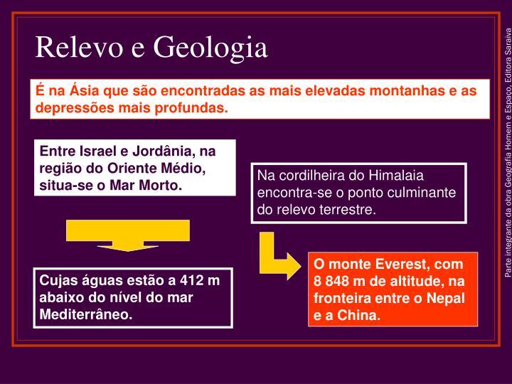 Relevo e Geologia