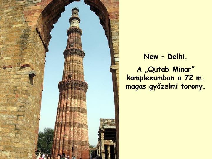 New – Delhi.