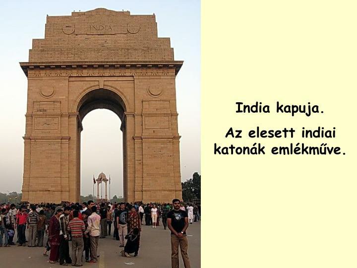 India kapuja.
