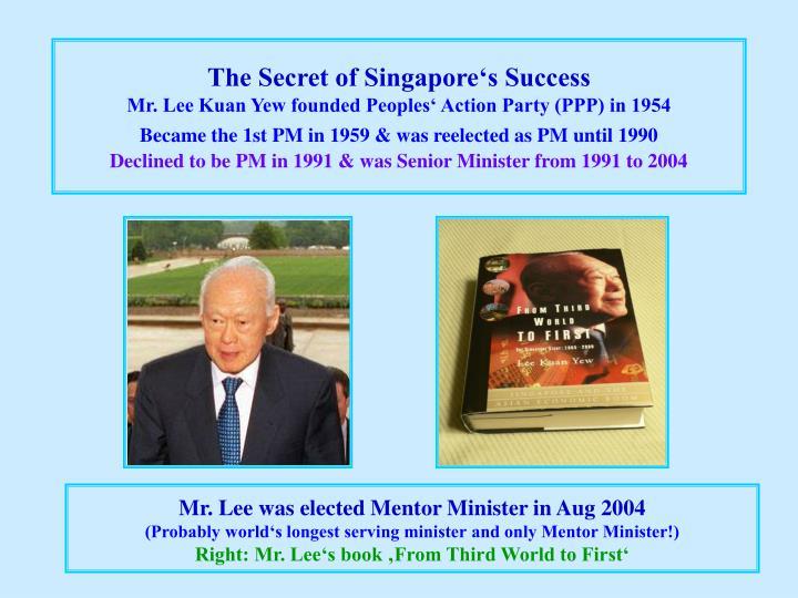 The Secret of Singapore's Success