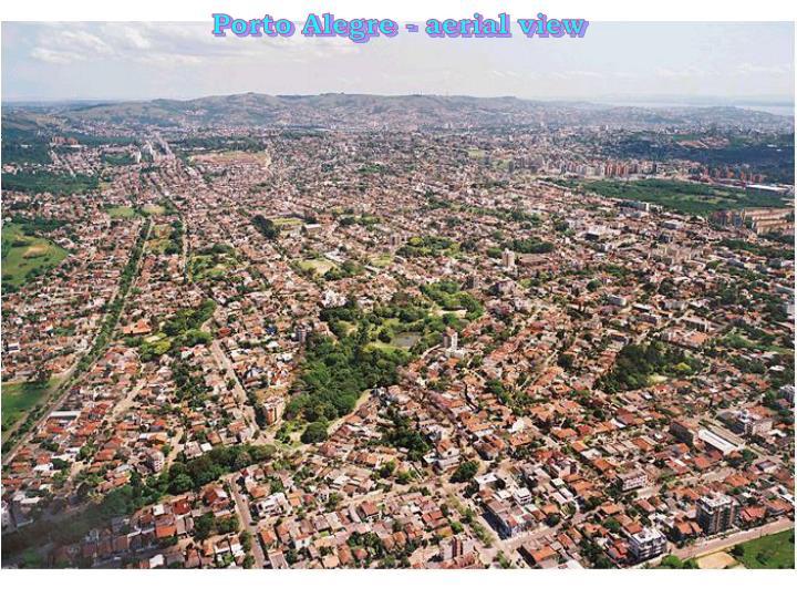Porto Alegre - aerial view