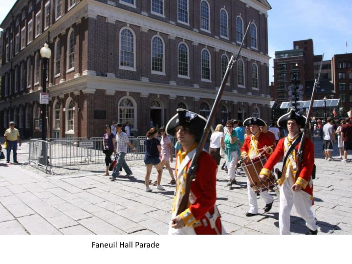 Faneuil Hall Parade