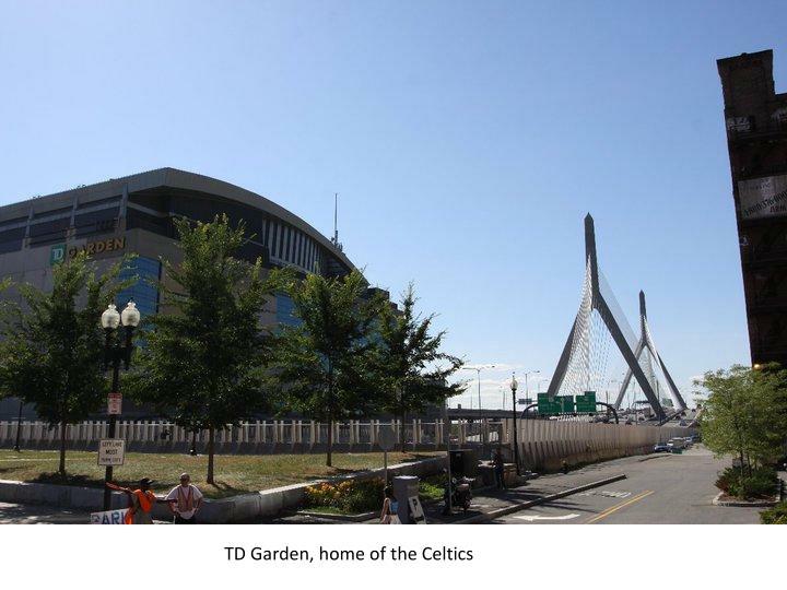 TD Garden, home of the Celtics
