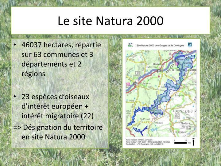 Le site Natura 2000