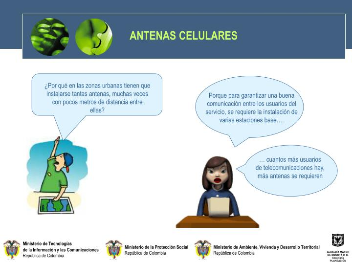 ANTENAS CELULARES
