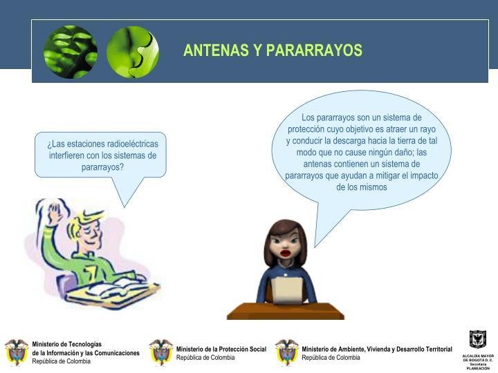 ANTENAS Y PARARRAYOS