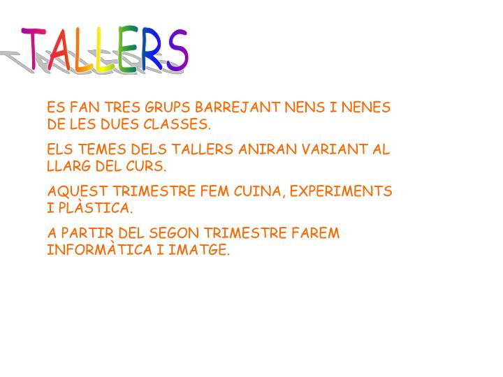 TALLERS