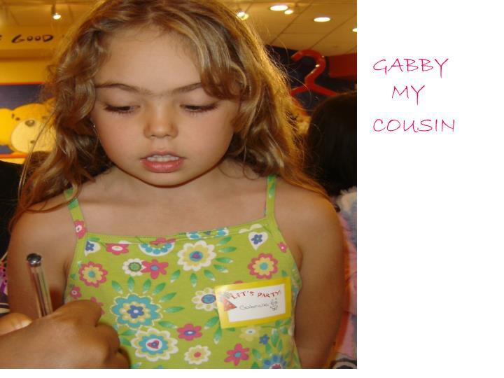 GABBY MY
