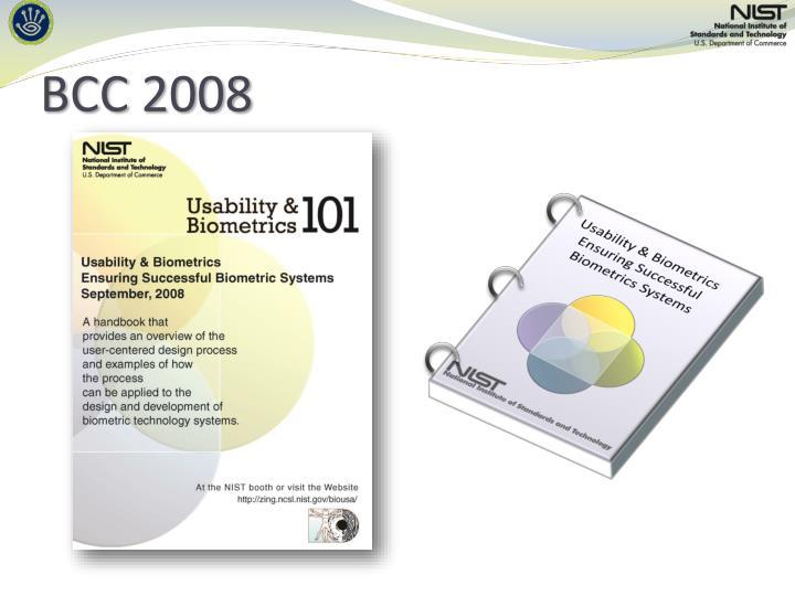 BCC 2008